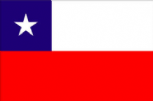 CHILE - HAND WAVING FLAG (MEDIUM)